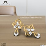Aviana Diamond Studded Gold Earring