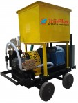 High Pressure Triplex Piston Pump For Hydrostatic Test, Cleaning Pump