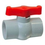 Plastic Solid Ball Valves