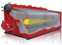 Water Tube Type Bi Drum Oil And Gas Fired Boiler