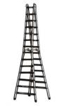 Aluminium Double Steps Trestle Ladder