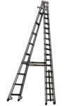Aluminium Self Support Platform Ladder