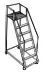 Aluminium Trolley Steps Ladder