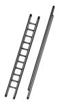 Open Compact Aluminium Ladder