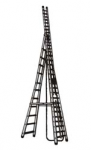 Self-Supporting Type Extended Aluminium Ladder