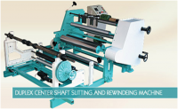Duplex Center Surface Rewinding Machine