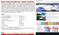 Doctor/hospital Web Portal