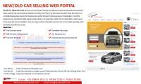 New/old Car Selling Web Portal
