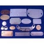Aluminium Anodized Labels