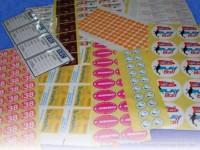 Multi Colored Paper Stickers